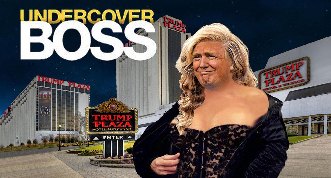 Undercover Boss Fake